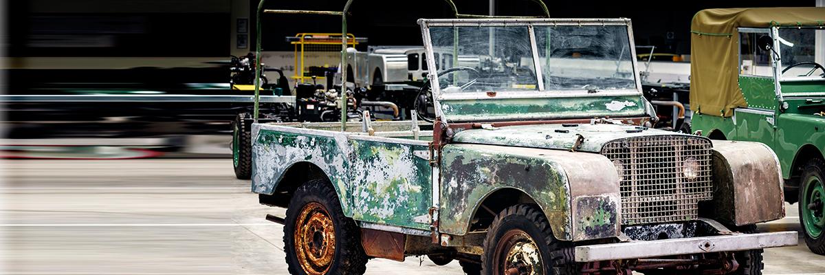 70º aniversario de Land Rover