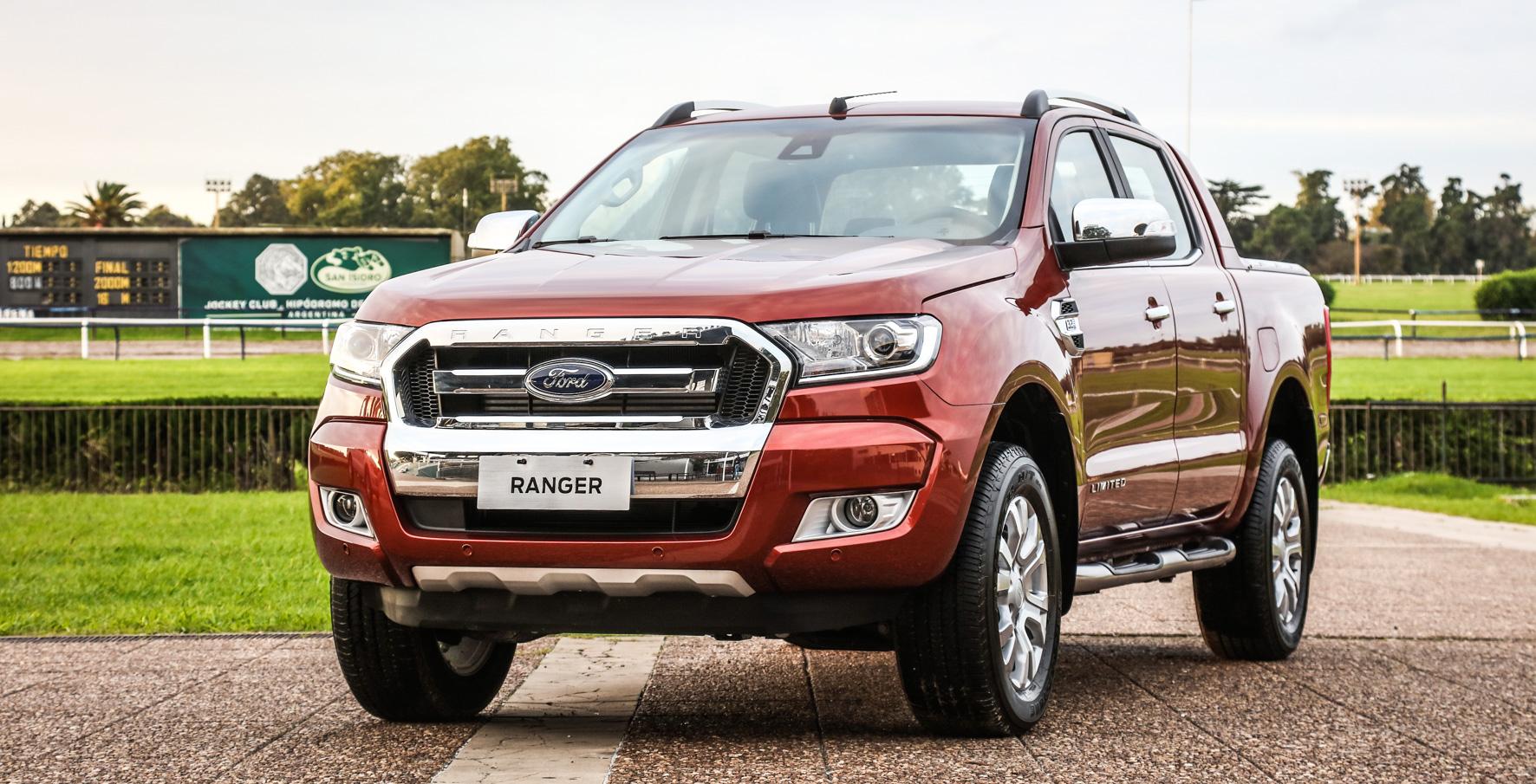 Novedades para la pick-up Ranger