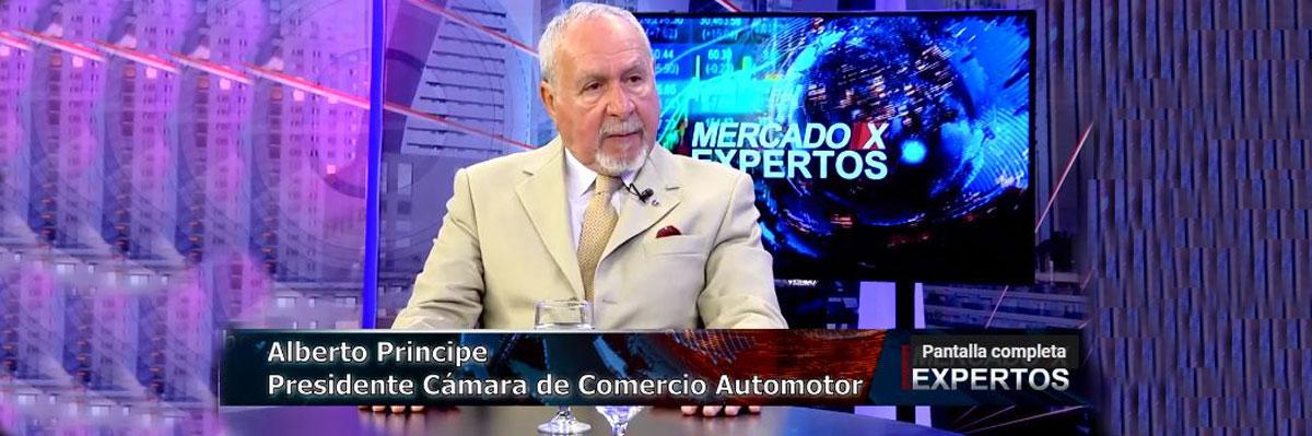 La crisis económica y el mercado automotor analizado por Alberto Príncipe