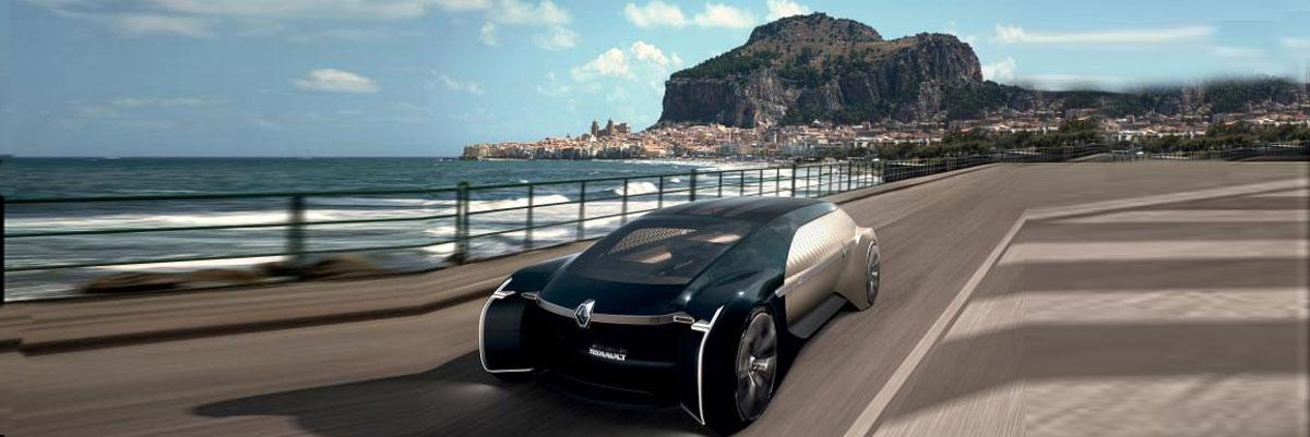 Un robot vehículo