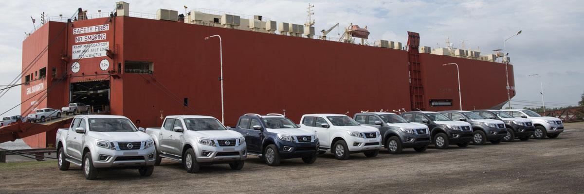 La Nissan Frontier a Brasil