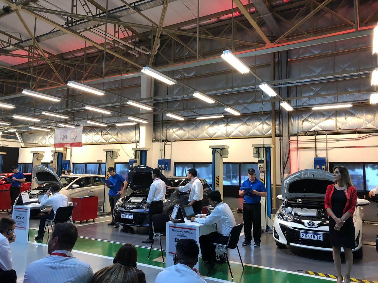 Toyota realizó el Concurso Nacional de Habilidades Técnicas y de Atención al Cliente 2018