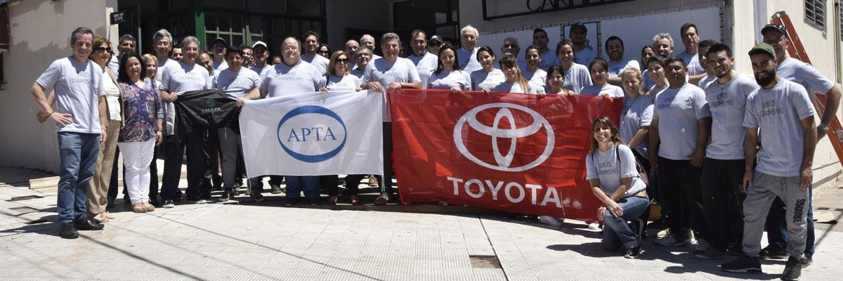 Toyota y SMATA donaron equipamiento médico