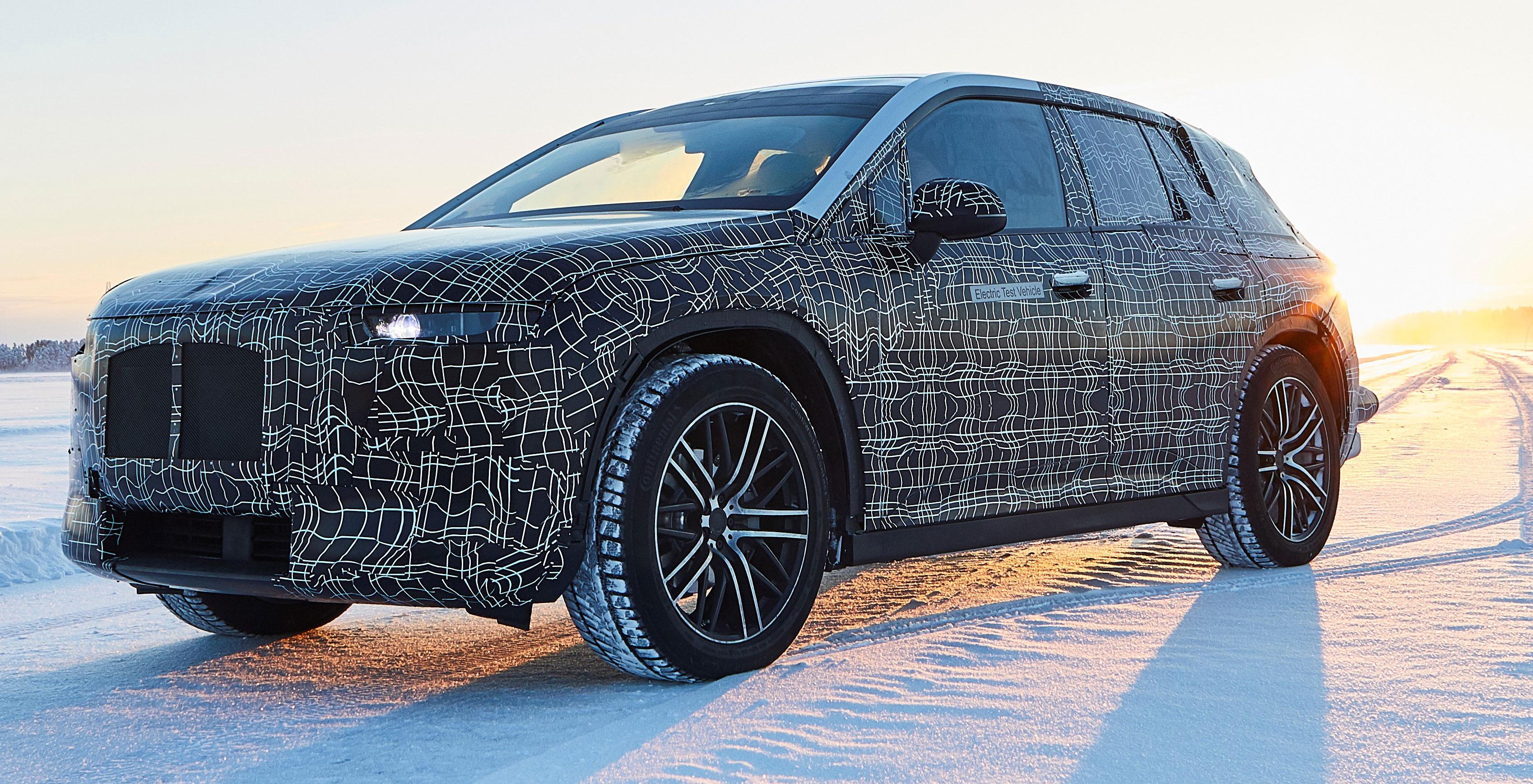 En el frío polar, prueban al BMW iNEXT