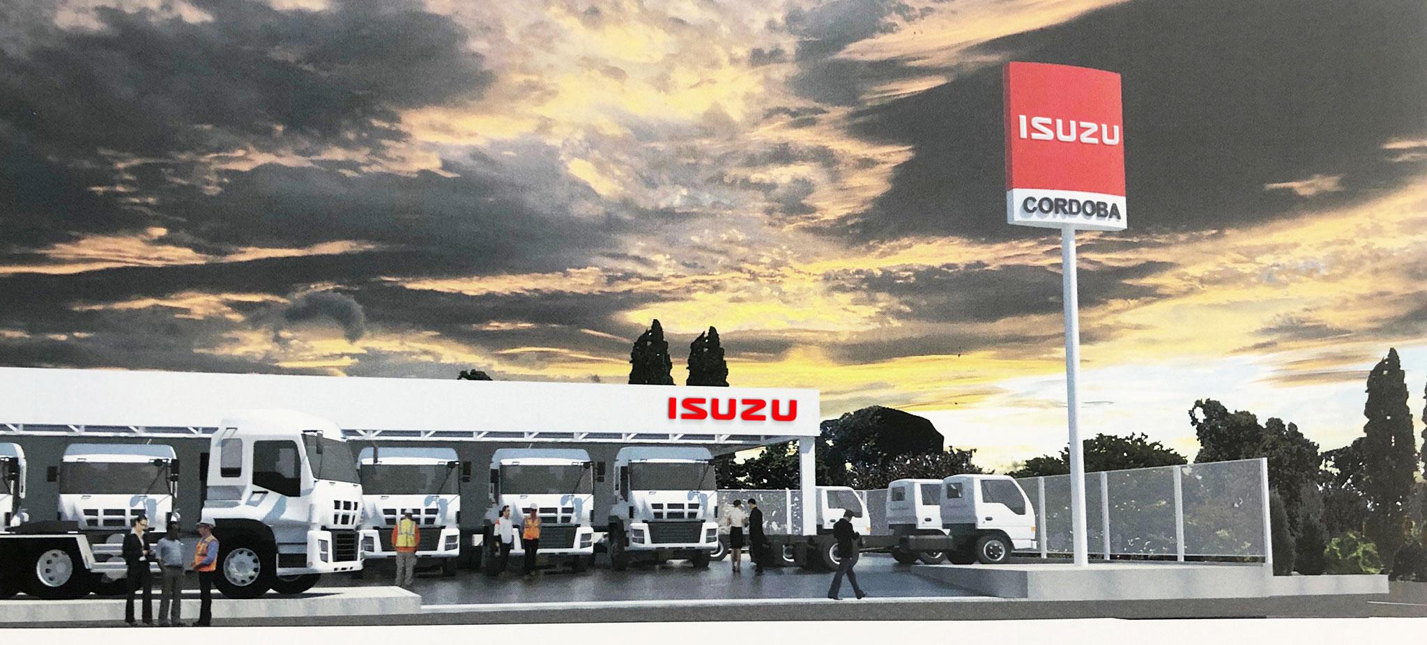 Nuevo concesionario Isuzu
