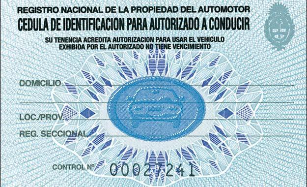 CIRCULAR DN Nº 14/2019 CONSULTA RENAPER DATOS AUTORIZADO A CONDUCIR