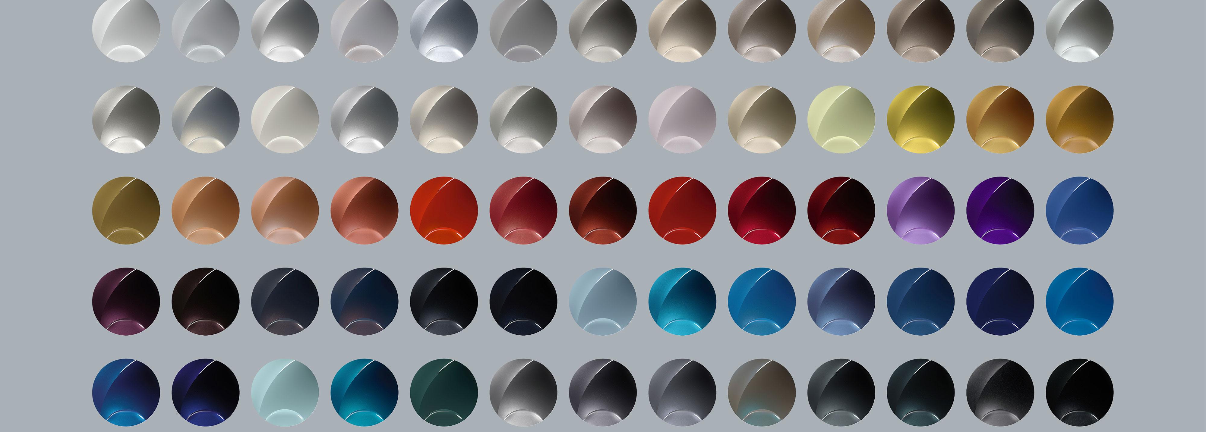 Los colores que serán tendencia en pinturas automotrices