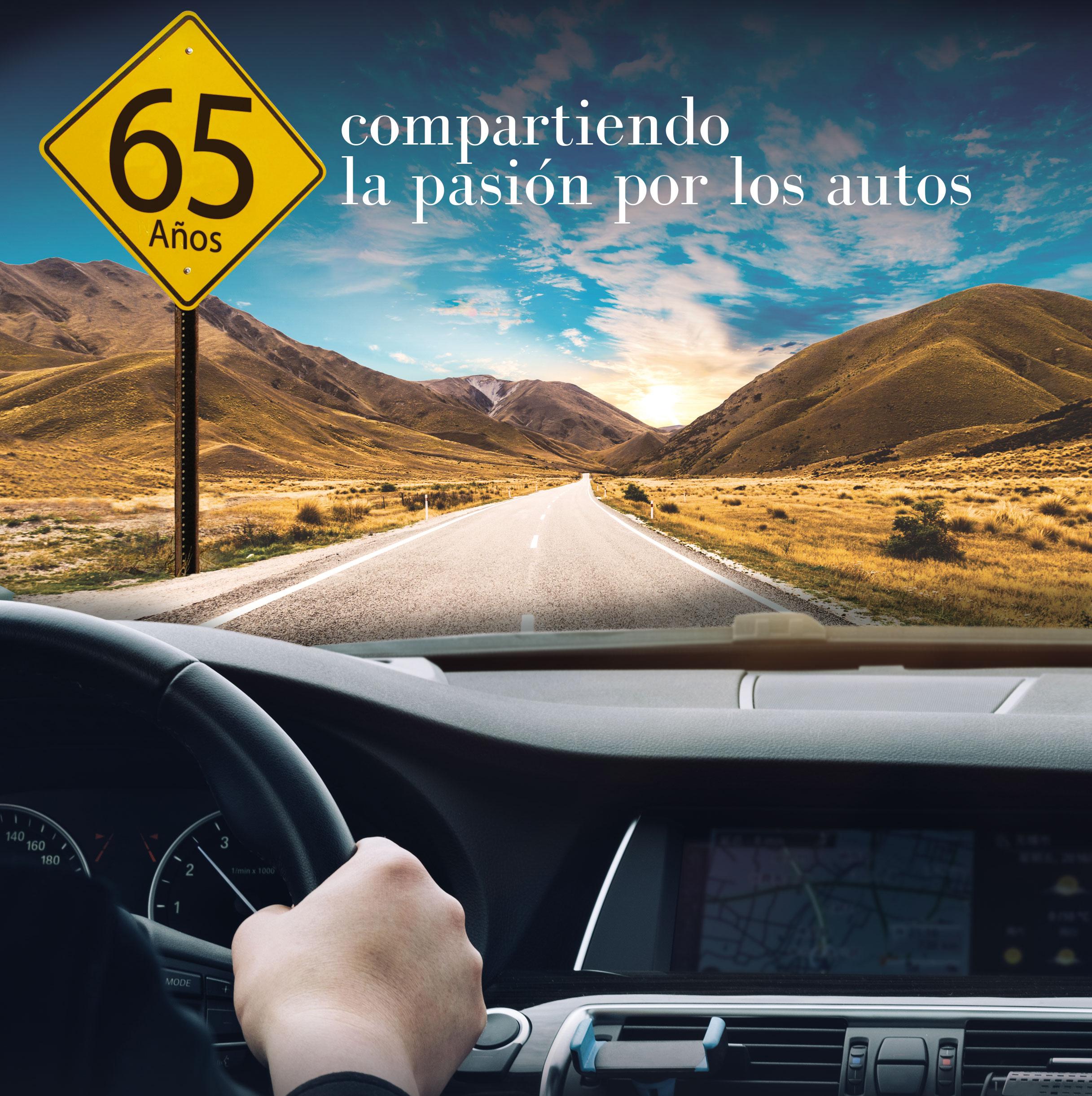 65 años compartiendo la pasión por los autos