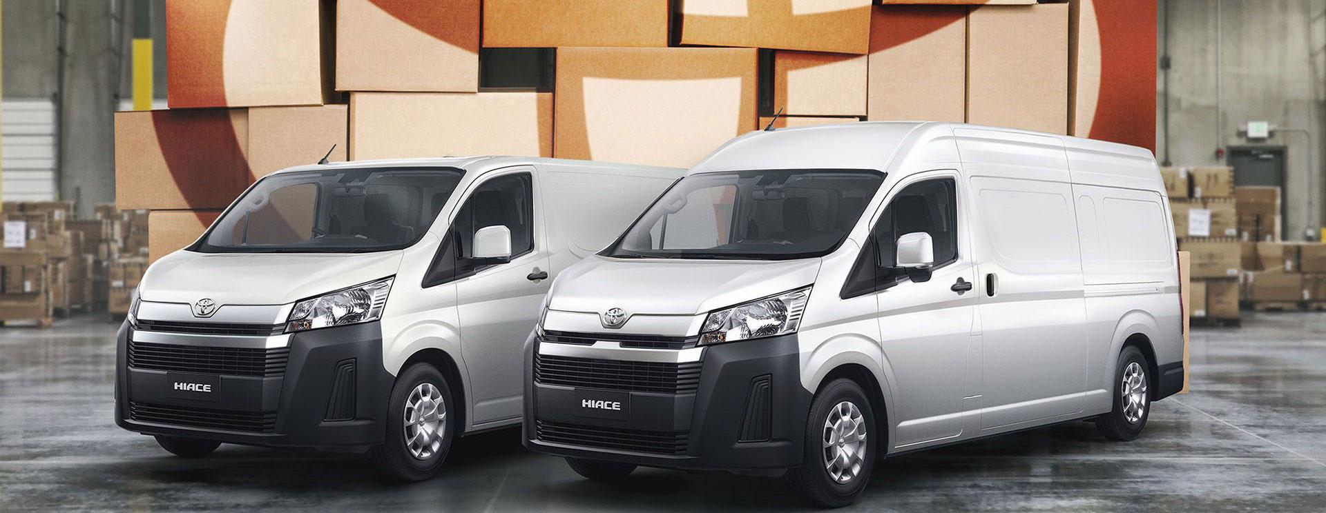 Toyota lanzó el furgón Hiace