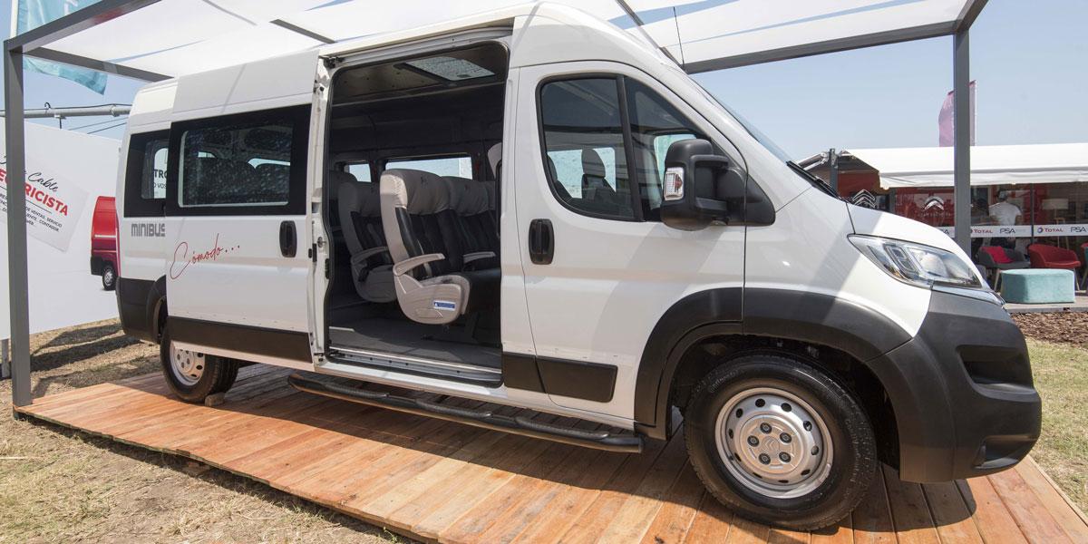 Nueva Citroën Jumper Minibus