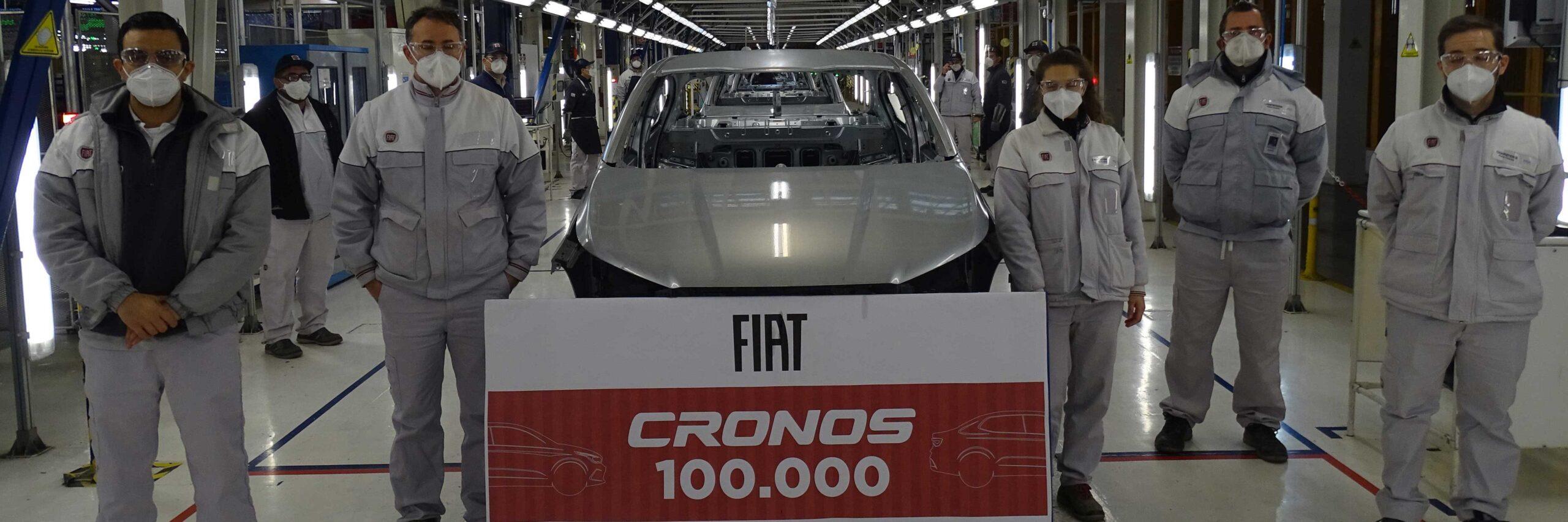 FCA fabricó la unidad 100.000 del Cronos