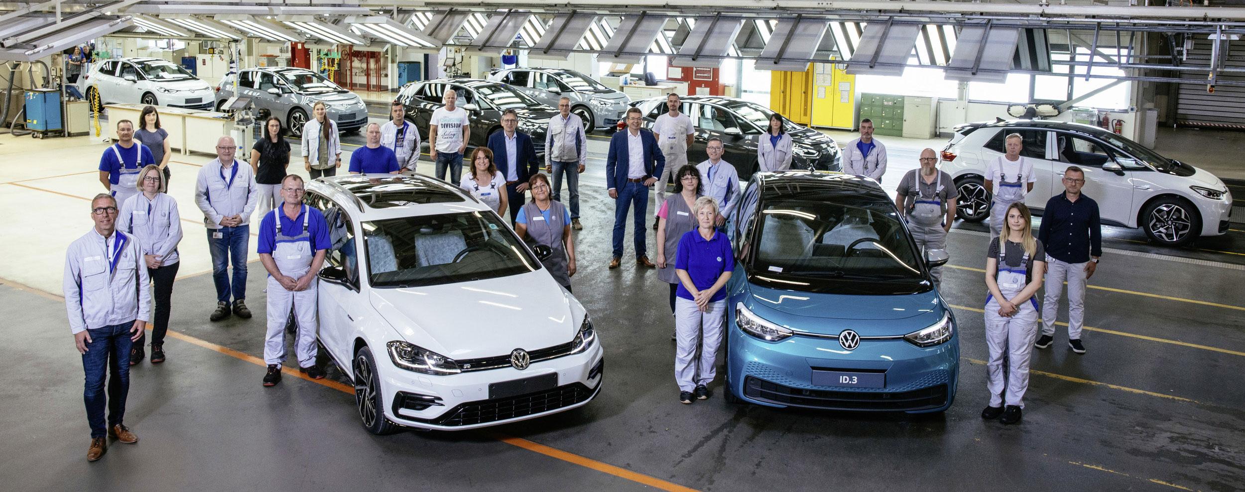La planta de VW en Zwickau producirá sólo autos eléctricos