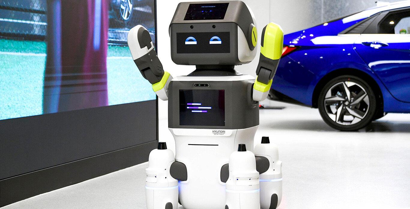 Robot que vende autos