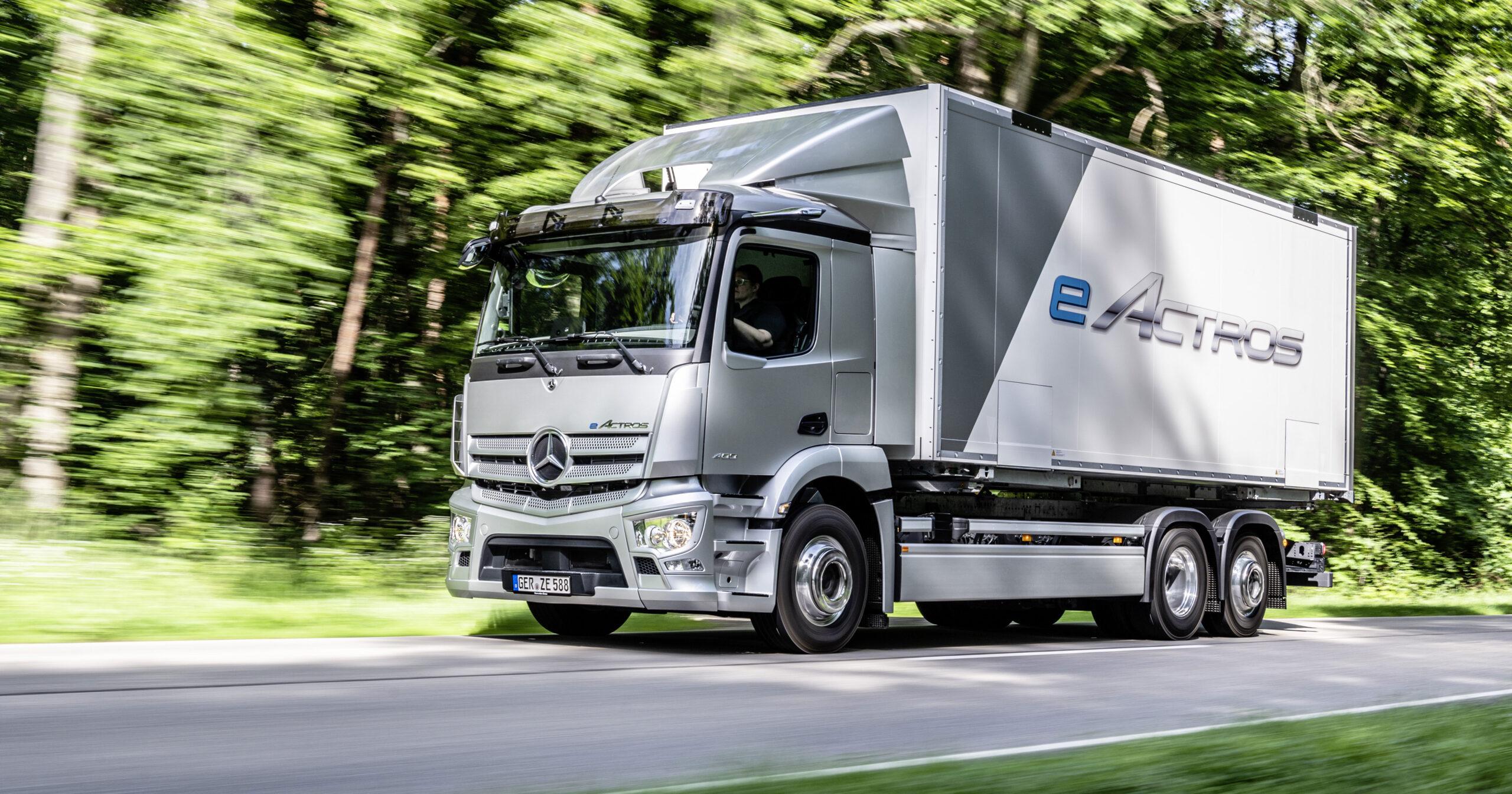 El primer camión eléctrico de Mercedes-Benz